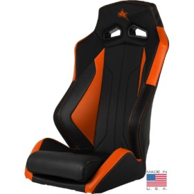 Ampedoffroad Seat Orange Front Left X
