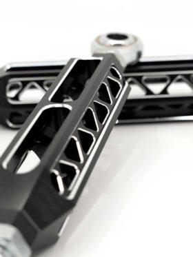 Polaris Rzr Pro Xp Sway Bar Links, Billet Rear Performance – Raw Finish