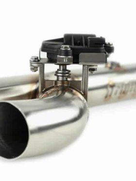 Polaris Rzr Xp Turbo Series Head Pipe, Electronic Cutout