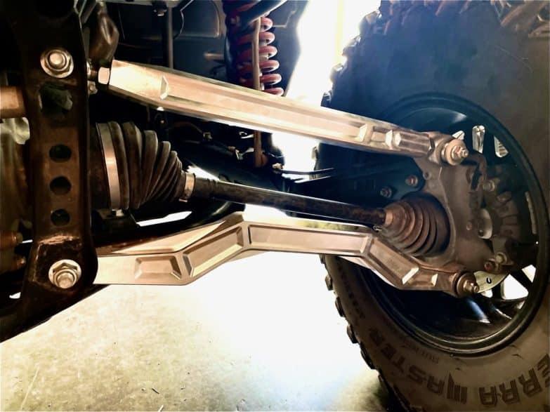 Honda Talon 1000x Radius Rods, Solid Billet