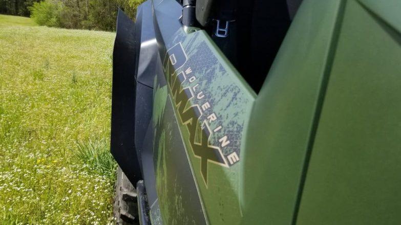 Yamaha Wolverine Rmax4 Mud Flaps, Fender Extensions