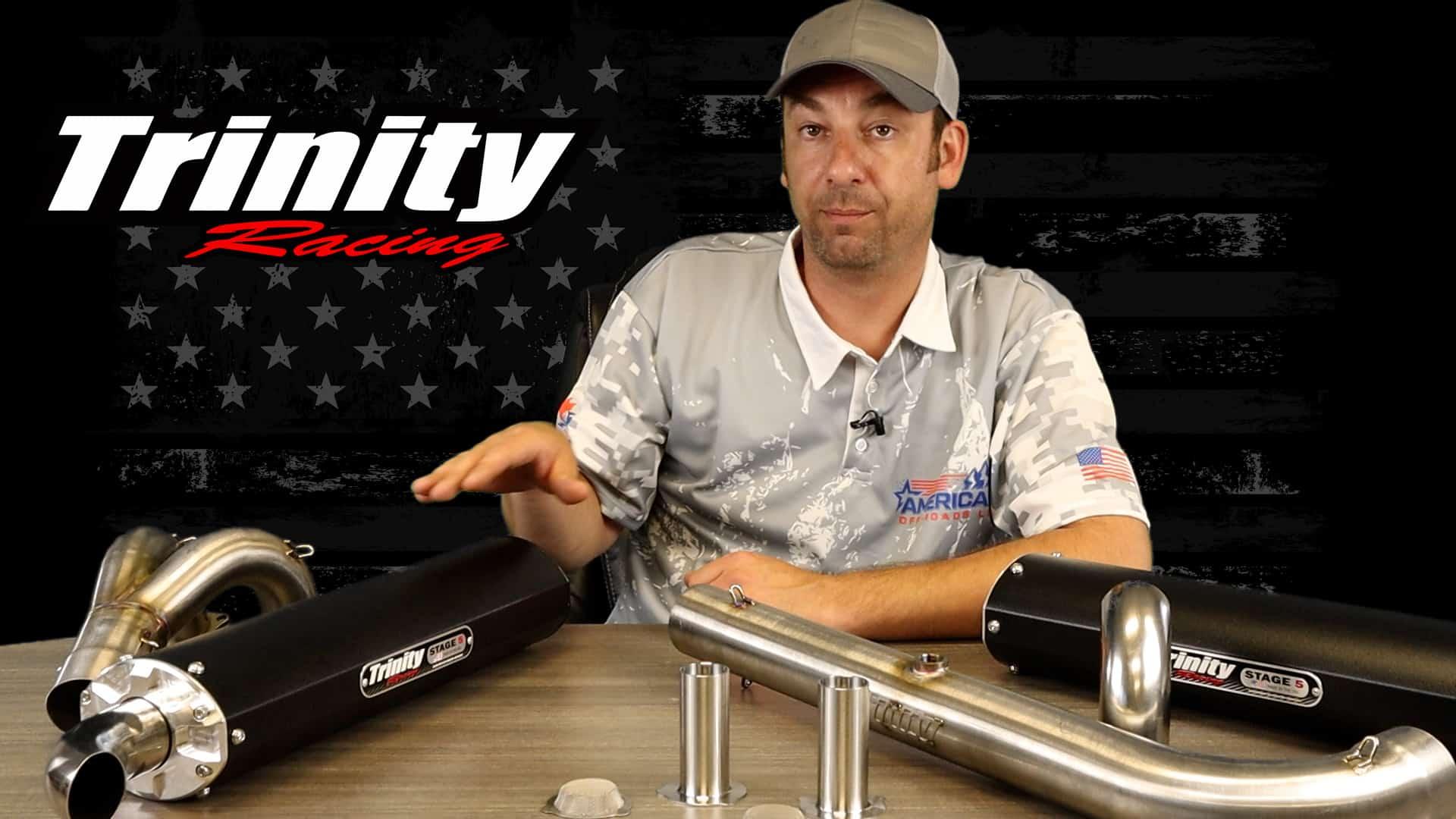 American Off-Roads Talk Trinity Racing Exhaust