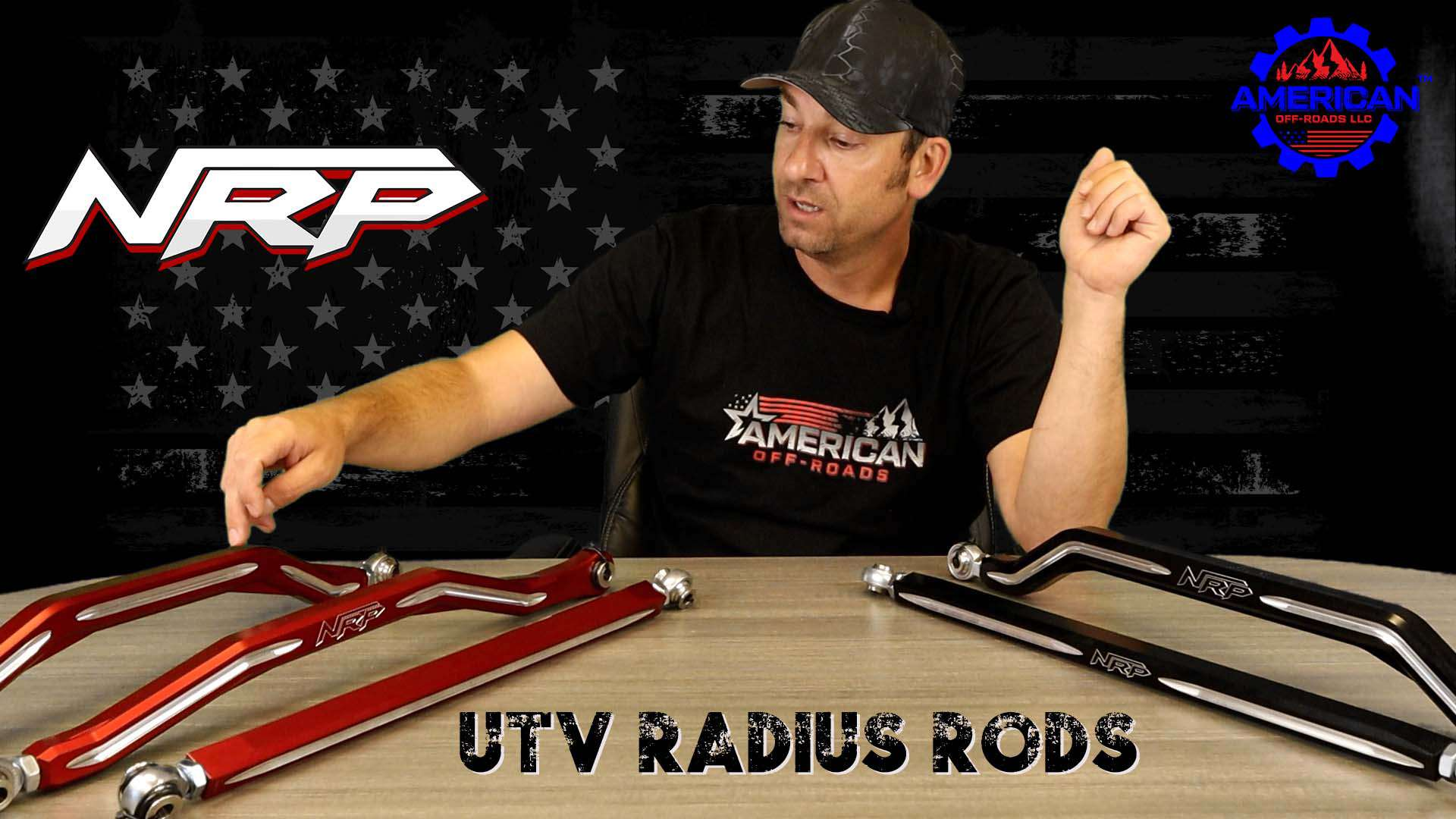 American Off-Roads Talk NRP Radius Rods