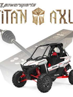 Polaris Rzr Rs1 Axles, Titan Edition
