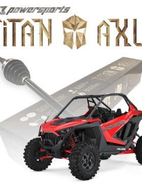 Polaris Rzr Pro Xp Axles, Titan Edition