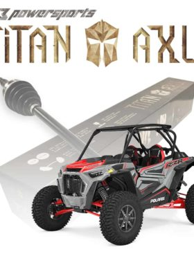 Polaris Rzr S Series Axles, Titan Edition (copy)